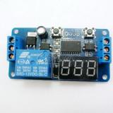 releu timer temporizator programabil lcd led display 12v 220v plc buzzer buzer