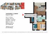 Apartament 2 Camere Dimitrie Leonida - Berceni, Etajul 5