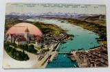Carte postala veche Elvetia - Postkarte - Zurich, Germania, Circulata, Fotografie