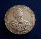 Medalie Vasile Lupu - Voievod si domn al Moldovei - Biserica Trei Ierarhi - Iasi
