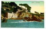 Carte postala veche Italia - Postkarte - Peisaj Nervi -Capolungo, Germania, Circulata, Fotografie