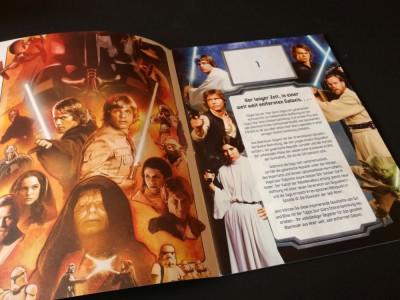 Album gol Topps Star Wars 2012 foto