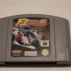 F1 Pole Position 64 - joc original Nintendo 64