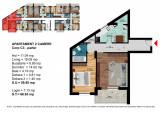 Apartament 2 Camere Dimitrie Leonida - Berceni, Parter