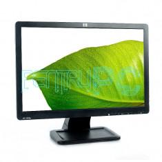 "Monitor LCD HP 19"" Wide Black 1440 x 900 5ms VGA GARANTIE + Cabluri !!!, 19 inch, TN"