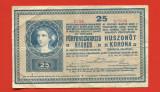 Ungaria 25 korona 27 octombrie 1918 Fine