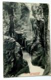 Carte postala veche Elvetia   - Cascada Cholerenschlucht bei Adelboden, Germania, Circulata, Fotografie