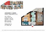Apartament 2 Camere Dimitrie Leonida - Berceni, Etajul 3