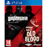 Wolfenstein The New Order & The Old Blood Double Pack PS4 Xbox One, Actiune, 18+, Multiplayer