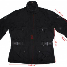 Costum moto Dainese, mesada, protectii, barbati, marimea 52(L), Combinezoane