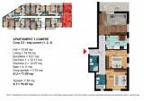 Apartament 3 Camere Dimitrie Leonida - Berceni, Etajul 1