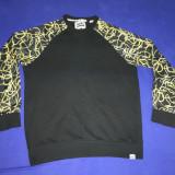 Bluza fabric, M, Negru