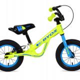 Bicicleta Copii Fara Pedale Moni Balance Jogger Verde