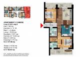 Apartament 3 Camere Dimitrie Leonida - Berceni, Etajul 5