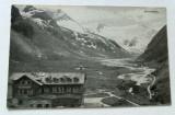 Carte postala veche Germania Peisaj Montan Moserboden, Circulata, Fotografie