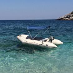 "Barca Cu Chila In,, V"" Jago 320, Podina Aluminiu"
