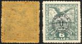 EROARE--RARITATE --ABKLATSCH-OCUPATIA  IN UNGARIA -- DEBRETIN 1919 --MNH, Nestampilat