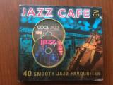 Jazz cafe 40 smooth jazz favourites dublu disc 2 cd compilatie best muzica jazz