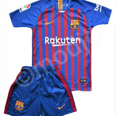 Compleu Echipament Fotbal FC BARCELONA COUTINHO MODEL 2018-2019 copii 5 - 15 ani, Marime: YXXL, YXL, YL, YM, YS, YXS, Set echipament fotbal