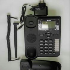 Telefon fix cu SIM si antena detasabila 2G 3G Orice retea Garantie 12 luni