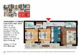 Apartament 3 Camere Dimitrie Leonida - Berceni, Etajul 2