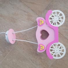 Lustra pentru fetite forma trasura