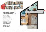 Apartament 2 Camere Dimitrie Leonida - Berceni, Etajul 2