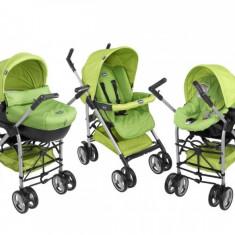 Carucior Chicco 3 in 1 - Carucior copii 3 in 1 Chicco, Verde