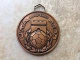 Medalie aniversara uta arad 1945-1985 campioana romaniei fan sport fotbal hobby
