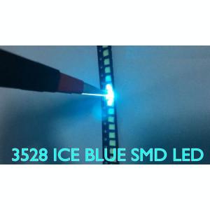 LED SMD PLCC-2 1210 3528 Turcoaz ICE BLUE EPISTAR