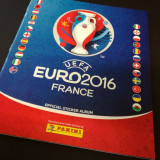 Album Panini Euro 2016 Franta, versiunea Germania, completat partial