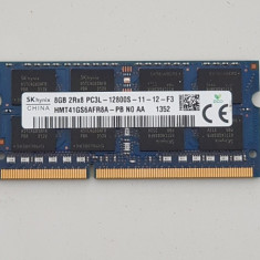 Memorie laptop 8GB DDR3L sodimm 1600Mhz - macbook, imac - Hynix - Memorie RAM laptop
