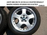JANTE BBS DELTA 18 5X114.3 DUSTER RENAULT SI ALTE MASINI ASIATICE, 8, 5