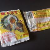 Pliculet sigilat Panini West 1993 cu pliculet + figurina indian