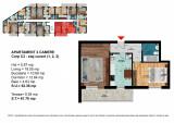 Apartament 2 Camere Dimitrie Leonida - Berceni, Etajul 1