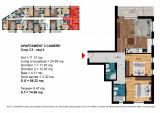 Apartament 3 Camere Dimitrie Leonida - Berceni, Etajul 4