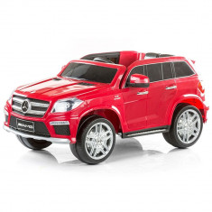 Masinuta electrica Chipolino SUV Mercedes Benz GL63 AMG Red - Masinuta electrica copii