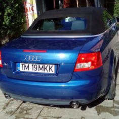 Audi A4, Cabriolet, 2005, 1.8 turbo, impecabil. Din UK, inmatriculat in Romania, Benzina, 148000 km, 1781 cmc