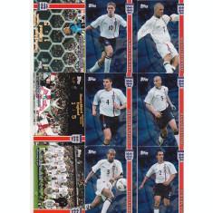 bnk crc Cartonase de colectie - Topps - Echipa angliei 2000-2001 - 60 bucati