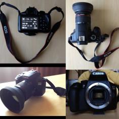 Vand DSLR Canon EOS 1300D - Pachet complet/Aproape Nou - Aparat foto DSLR