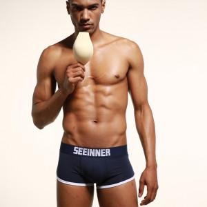 Chiloti  / boxeri barbati cu push-up (pernute) fata + spate