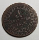 1 kreuzer 1812, Europa