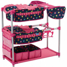 Patut Dublu Papusi - Twin Doll Station Love Navy