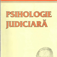 "Psihologie judiciara Martian Iovan ""Vasile Goldis"" University Press 2006 - Carte Sociologie"