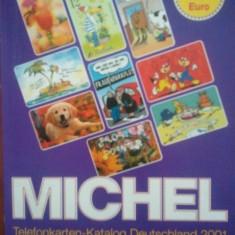 Catalog de cartele telefonice Germania MichelTelefonkartenKatalogDeutschland2001