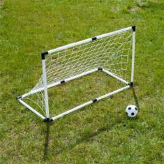 Poarta de fotbal cu minge de 15 cm - Poarta Fotbal