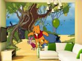 Fototapet Disney Winnie The Pooh Plimbare 360 x 270 cm