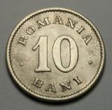10 bani 1900 - axa deviata