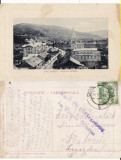Vatra Dornei (Bucovina, Suceava)-Vedere generala-cenzura WWI, WK1, Circulata, Printata