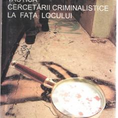 """Tactica cercetarii criminalistice la fata locului P. Palcu """"Vasile Goldis"""" 2006 - Carte Criminologie"""
